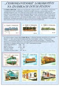 Československé lokomotívy na známkach iných štátov