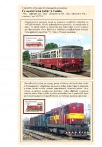 Československá kolejová vozidla