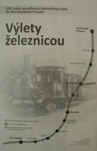Výlety železnicou
